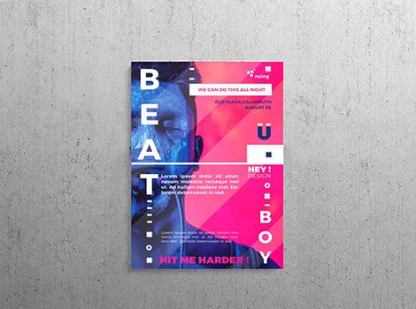 Frame Poster Pranata Printing